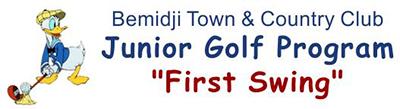 Bemidji Town and Country Club Junior Golf Program First Swing